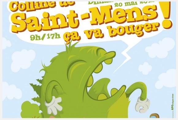 Affiche Saint mens