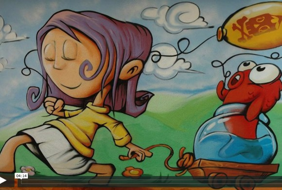 Fresque Rue Aimard Gap