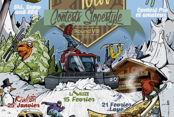 Affiche AtmoTour 2015